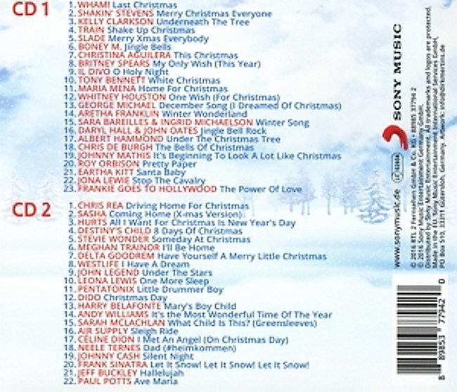 Rtl2 Weihnachtskalender.Rtl2 Weihnachts Hits Cd Von Various Bei Weltbild De Bestellen