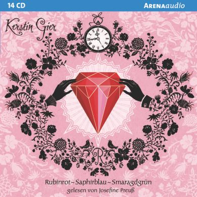 Rubinrot - Saphirblau - Smaragdgrün, 14 Audio-CDs, Kerstin Gier