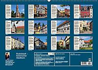 Rudolstadt - Mein Spaziergang durch den historischen Stadtkern (Wandkalender 2019 DIN A2 quer) - Produktdetailbild 13