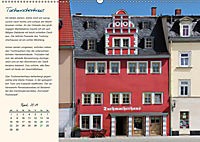 Rudolstadt - Mein Spaziergang durch den historischen Stadtkern (Wandkalender 2019 DIN A2 quer) - Produktdetailbild 4