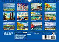 Rügen in Farbe - Mit Pinsel und Farbe auf der Lieblingsinsel (Wandkalender 2019 DIN A4 quer) - Produktdetailbild 2