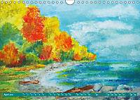 Rügen in Farbe - Mit Pinsel und Farbe auf der Lieblingsinsel (Wandkalender 2019 DIN A4 quer) - Produktdetailbild 1