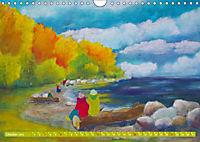 Rügen in Farbe - Mit Pinsel und Farbe auf der Lieblingsinsel (Wandkalender 2019 DIN A4 quer) - Produktdetailbild 5