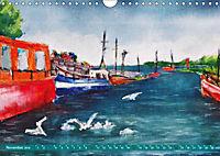 Rügen in Farbe - Mit Pinsel und Farbe auf der Lieblingsinsel (Wandkalender 2019 DIN A4 quer) - Produktdetailbild 10