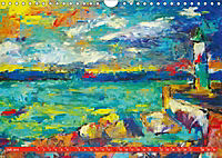 Rügen in Farbe - Mit Pinsel und Farbe auf der Lieblingsinsel (Wandkalender 2019 DIN A4 quer) - Produktdetailbild 9
