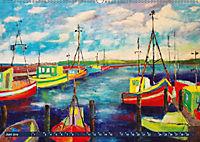 Rügen in Farbe - Mit Pinsel und Farbe auf der Lieblingsinsel (Wandkalender 2019 DIN A2 quer) - Produktdetailbild 2
