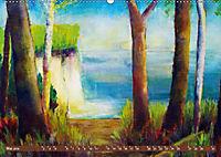 Rügen in Farbe - Mit Pinsel und Farbe auf der Lieblingsinsel (Wandkalender 2019 DIN A2 quer) - Produktdetailbild 1