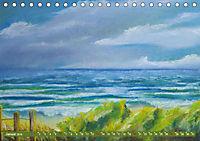Rügen in Farbe - Mit Pinsel und Farbe auf der Lieblingsinsel (Tischkalender 2019 DIN A5 quer) - Produktdetailbild 1