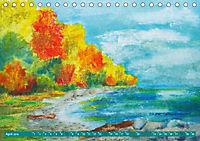Rügen in Farbe - Mit Pinsel und Farbe auf der Lieblingsinsel (Tischkalender 2019 DIN A5 quer) - Produktdetailbild 4