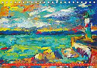 Rügen in Farbe - Mit Pinsel und Farbe auf der Lieblingsinsel (Tischkalender 2019 DIN A5 quer) - Produktdetailbild 7