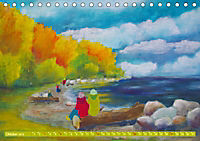Rügen in Farbe - Mit Pinsel und Farbe auf der Lieblingsinsel (Tischkalender 2019 DIN A5 quer) - Produktdetailbild 10