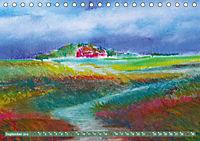 Rügen in Farbe - Mit Pinsel und Farbe auf der Lieblingsinsel (Tischkalender 2019 DIN A5 quer) - Produktdetailbild 9
