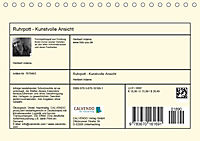 Ruhrpott - Kunstvolle Ansichten (Tischkalender 2019 DIN A5 quer) - Produktdetailbild 13
