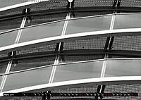 #Ruhrpottmonochrom - Das Exzenterhaus Bochum (Wandkalender 2019 DIN A2 quer) - Produktdetailbild 3