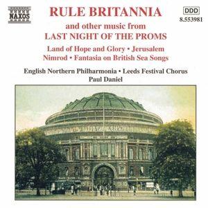 Rule Britannia: Last Night Of, Daniel, Engl.Northern Philh.