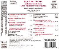 Rule Britannia: Last Night Of - Produktdetailbild 1