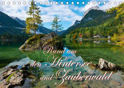 Rund um den Hintersee und Zauberwald (Tischkalender 2019 DIN A5 quer), Dieter-M. Wilczek