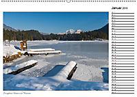 Rund um den Hintersee und Zauberwald (Wandkalender 2019 DIN A2 quer) - Produktdetailbild 13