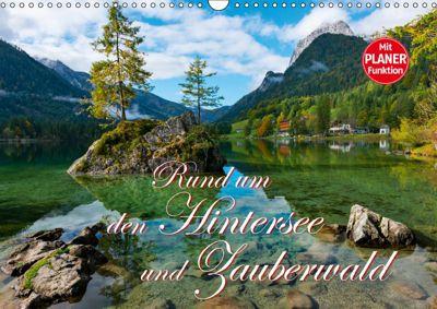 Rund um den Hintersee und Zauberwald (Wandkalender 2019 DIN A3 quer), Dieter-M. Wilczek