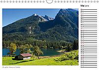 Rund um den Hintersee und Zauberwald (Wandkalender 2019 DIN A4 quer) - Produktdetailbild 5