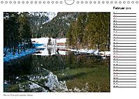 Rund um den Hintersee und Zauberwald (Wandkalender 2019 DIN A4 quer) - Produktdetailbild 2