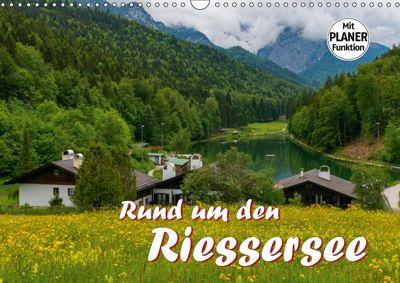 Rund um den Riessersee (Wandkalender 2019 DIN A3 quer), Dieter-M. Wilczek