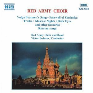 Russian Favourites, Victor Fedorow, The Red Army Choir