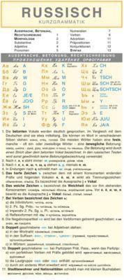 Russisch - Kurzgrammatik: Die komplette Grammatik anschaulich und verständlich dargestellt - Autorenkollektiv Holman |