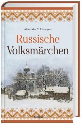 Russische Märchen mit CD Don Kosaken Chor, Alexander N. Afanasjew