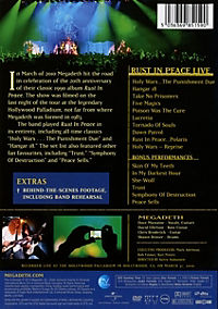 Rust In Peace Live (Dvd) - Produktdetailbild 1