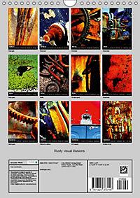 Rusty visual illusions (Wall Calendar 2019 DIN A4 Portrait) - Produktdetailbild 13
