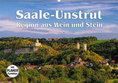 Saale-Unstrut - Region aus Wein und Stein (Wandkalender 2019 DIN A2 quer), k.A. LianeM