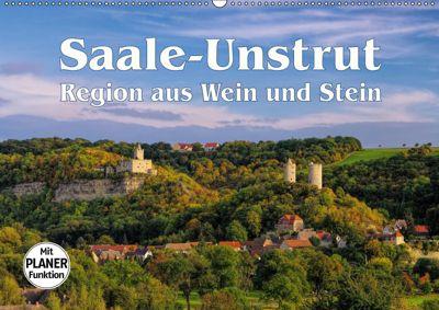Saale-Unstrut - Region aus Wein und Stein (Wandkalender 2019 DIN A2 quer), LianeM