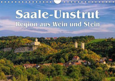 Saale-Unstrut - Region aus Wein und Stein (Wandkalender 2019 DIN A4 quer), LianeM