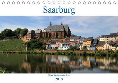 Saarburg - Eine Perle an der Saar (Tischkalender 2019 DIN A5 quer), Arno Klatt