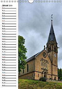 Sa(ar)krale Baukunst - Kirchenbauten im Saarland (Wandkalender 2019 DIN A4 hoch) - Produktdetailbild 1