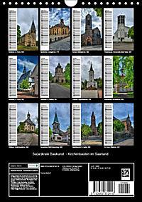 Sa(ar)krale Baukunst - Kirchenbauten im Saarland (Wandkalender 2019 DIN A4 hoch) - Produktdetailbild 13