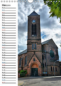 Sa(ar)krale Baukunst - Kirchenbauten im Saarland (Wandkalender 2019 DIN A4 hoch) - Produktdetailbild 3