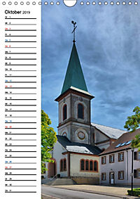 Sa(ar)krale Baukunst - Kirchenbauten im Saarland (Wandkalender 2019 DIN A4 hoch) - Produktdetailbild 10