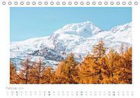 saas fee (Tischkalender 2019 DIN A5 quer) - Produktdetailbild 2