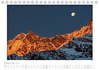saas fee (Tischkalender 2019 DIN A5 quer) - Produktdetailbild 12