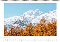 saas fee (Wandkalender 2019 DIN A2 quer) - Produktdetailbild 2