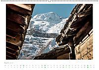 saas fee (Wandkalender 2019 DIN A2 quer) - Produktdetailbild 4