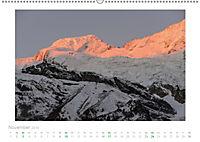 saas fee (Wandkalender 2019 DIN A2 quer) - Produktdetailbild 11