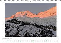 saas fee (Wandkalender 2019 DIN A3 quer) - Produktdetailbild 11