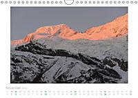 saas fee (Wandkalender 2019 DIN A4 quer) - Produktdetailbild 11