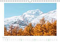 saas fee (Wandkalender 2019 DIN A4 quer) - Produktdetailbild 2