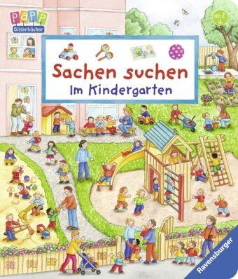 Sachen suchen - Im Kindergarten, Susanne Gernhäuser, Barbara Jelenkovich