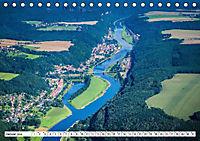 Sachsens Glanz - historische Höhepunkte aus der Vogelperspektive (Tischkalender 2019 DIN A5 quer) - Produktdetailbild 2