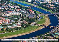 Sachsens Glanz - historische Höhepunkte aus der Vogelperspektive (Wandkalender 2019 DIN A4 quer) - Produktdetailbild 4